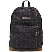 JanSport Right Pack Expressions Backpack in Grey Denim