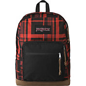JanSport Right Pack Expressions Backpack in Red Diamond Plaid