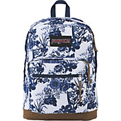 JanSport Right Pack Expressions Backpack in White Artist Rose
