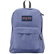 JanSport Superbreak Backpack in Bleached Denim