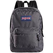 JanSport Superbreak Backpack in Forge Grey