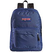 JanSport Superbreak Backpack in Navy