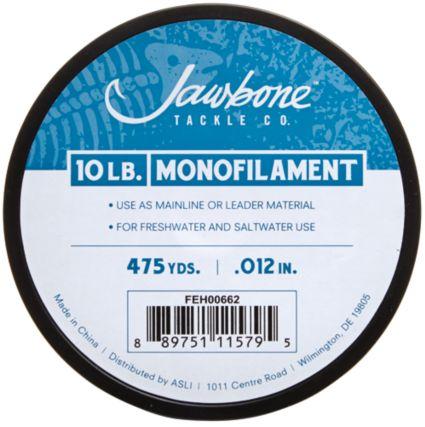 Jawbone Monofilament Fishing Line