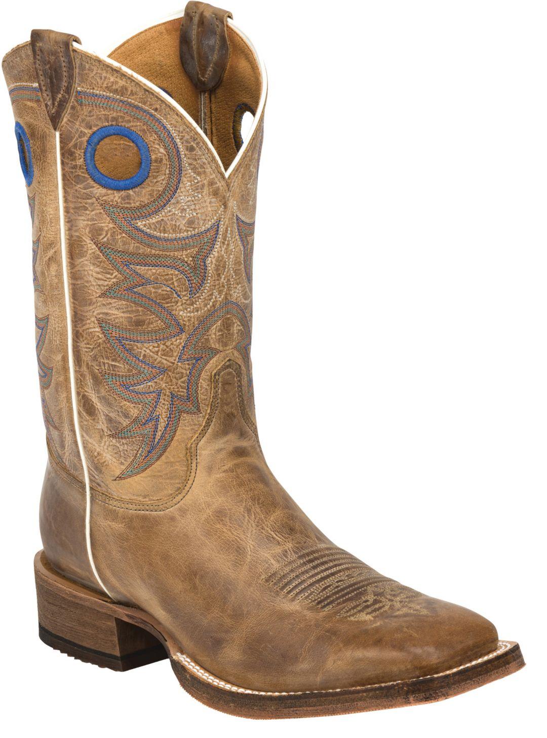 d46588dcc2b Justin Men's Chievo Cowhide Bent Rail Western Boots