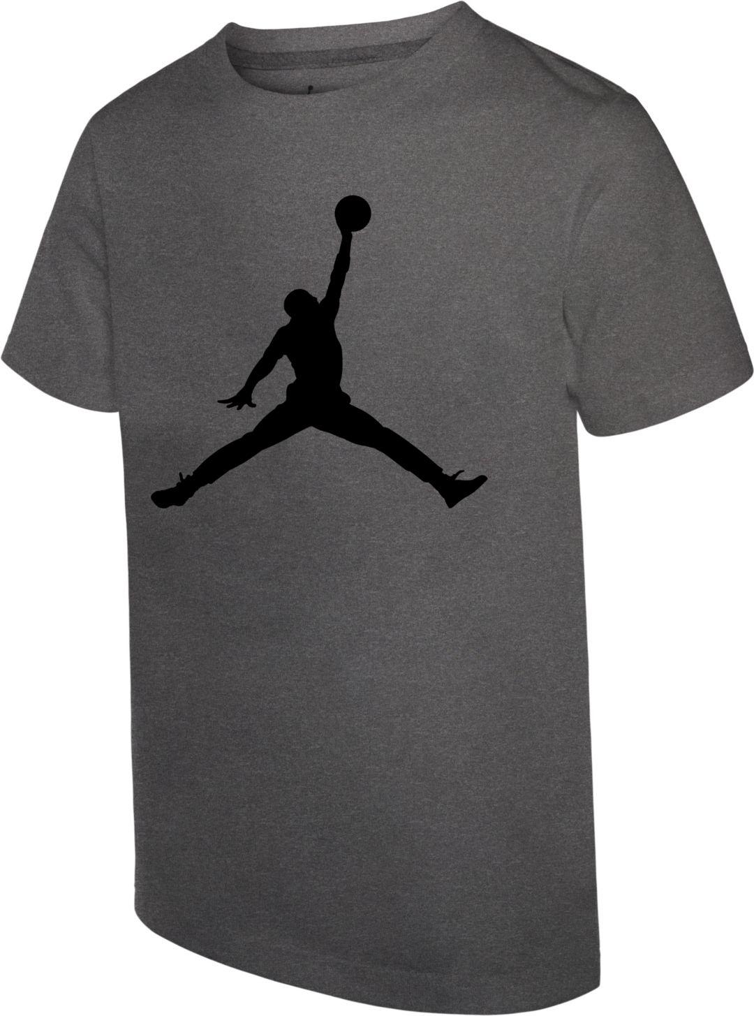 936bd806d Jordan Boys' Jumpman Logo Dri-FIT T-Shirt | DICK'S Sporting Goods