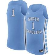 f5848d642cfd Jordan Men s North Carolina Tar Heels  1 Carolina Blue Replica Basketball  Jersey