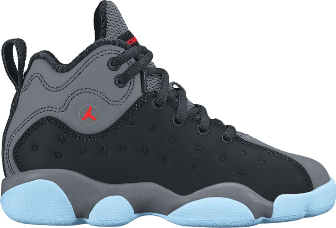 low priced 7eb5e ad2da Jordan Kids' Preschool Jumpman Team II Premium Basketball Shoes