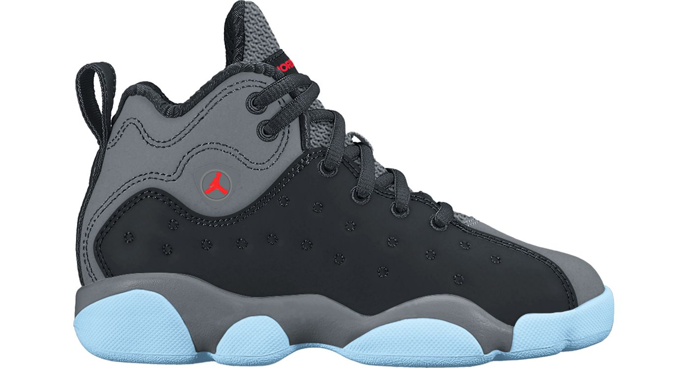 Jordan Kids' Preschool Jumpman Team II Premium Basketball Shoes