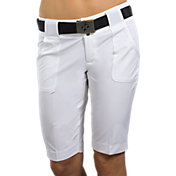 Jofit Women's Belted Bermuda Golf Shorts