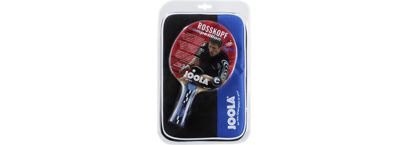 JOOLA Rosskopf Competition Table Tennis Racket and Case