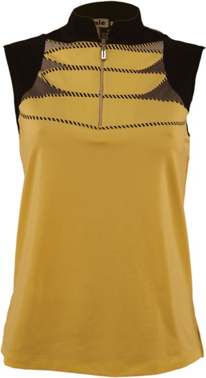 Jamie Sadock Women's Horizontal Colorblock Sleeveless Top