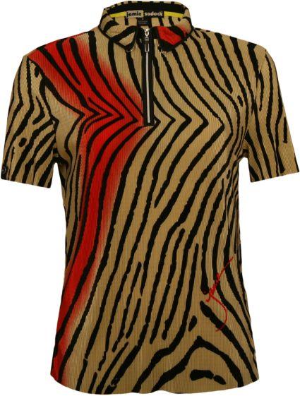 Jamie Sadock Women's Tiger Fish Crinkle Top