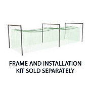 Jugs N1010 #1 Split Cage Short Toss Batting Cage Net (381 lb.)