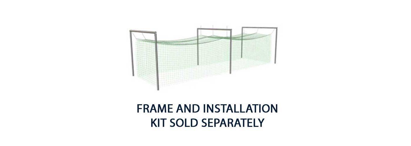 Jugs N2110 #2 Softball Batting Cage Net (119 lb.)