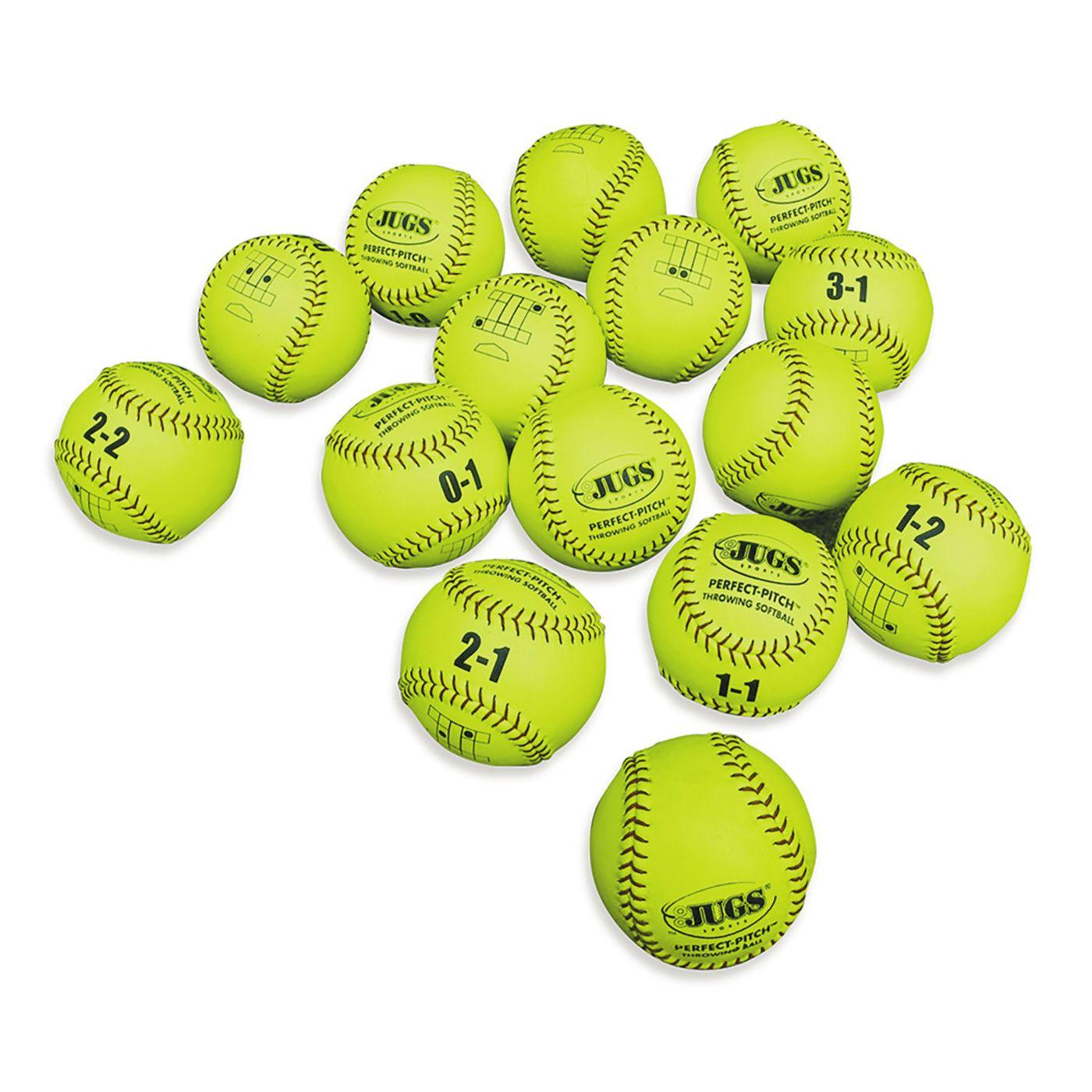 Jugs Bullpen Softballs – 15 Pack