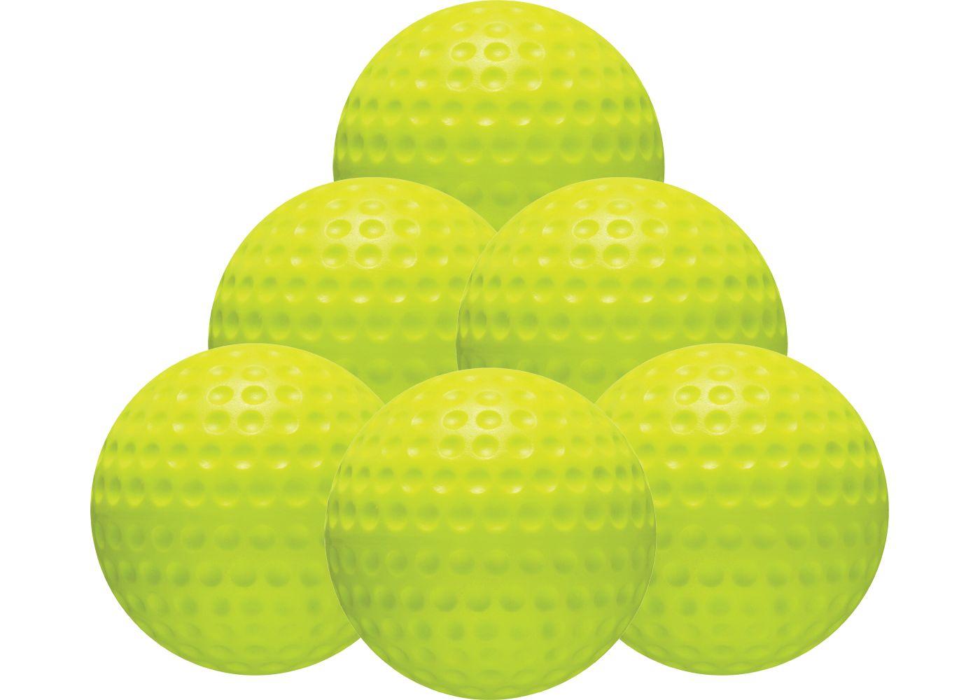 "Jugs 12"" Perfect Strike PS-50 Softballs - 6 Pack"