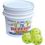Jugs Bulldog Yellow Poly Training Baseballs - Bucket of 18