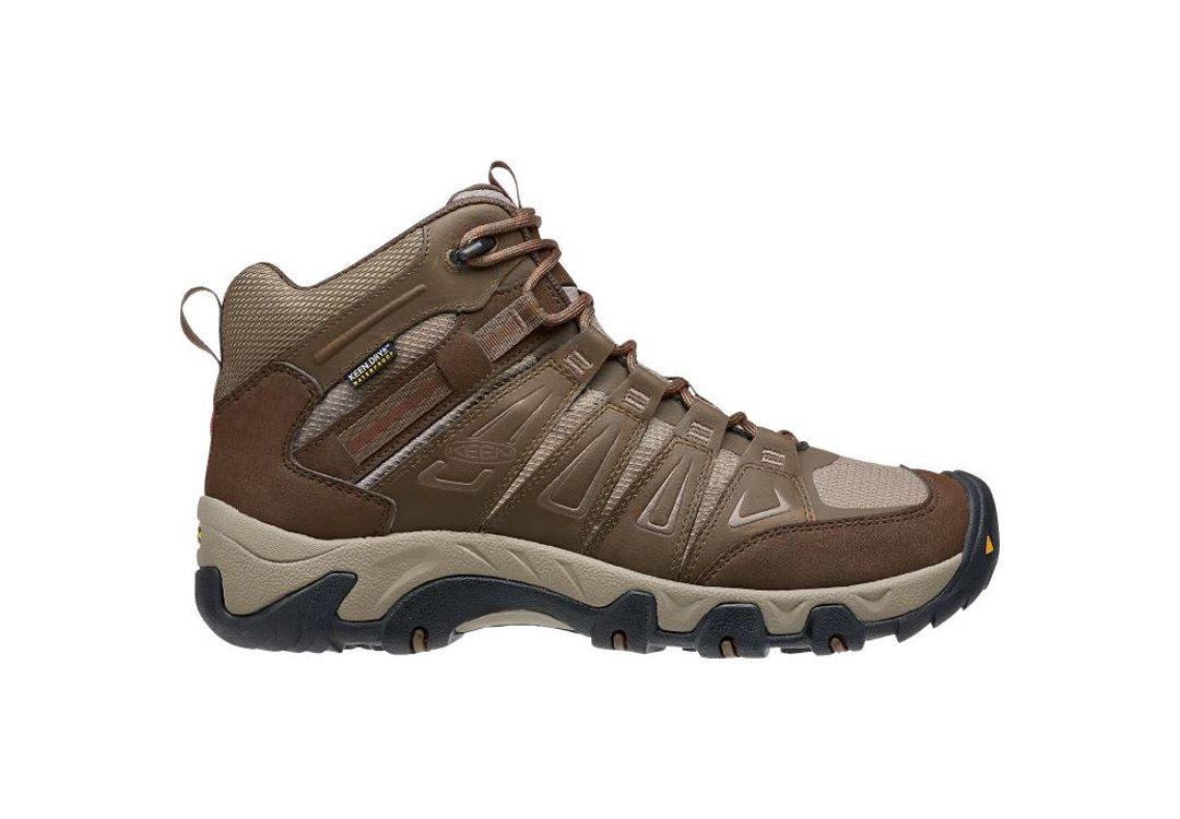 ffb317a643e7 KEEN Men s Oakridge Mid Waterproof Hiking Boots 1