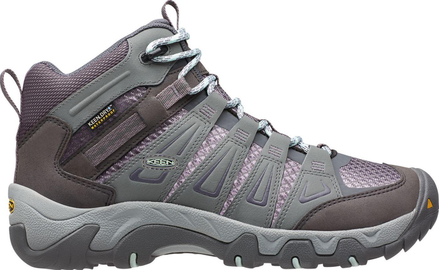 KEEN Women's Oakridge Mid Waterproof Hiking Boots