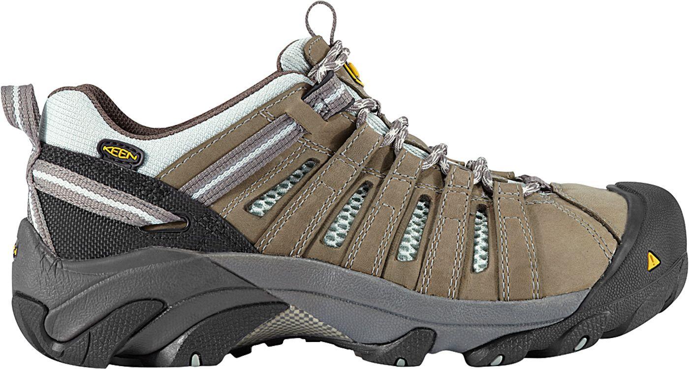 KEEN Women's Flint Low Steel Toe Work Shoes