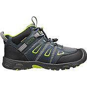 KEEN Kids' Oakridge Mid Waterproof Hiking Boots