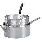 King Kooker 10 Quart Aluminum Deep Fryer Pan and Basket