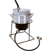 "King Kooker 12"" Welded Outdoor Fish Fryer Package with 10 Quart Fry Pan"