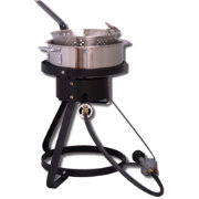 "King Kooker 16"" Outdoor Cooker with 7 Quart Stainless Steel Pot"