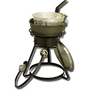 "King Kooker 16"" Outdoor Cooker with 6 Quart Pot and Lid"