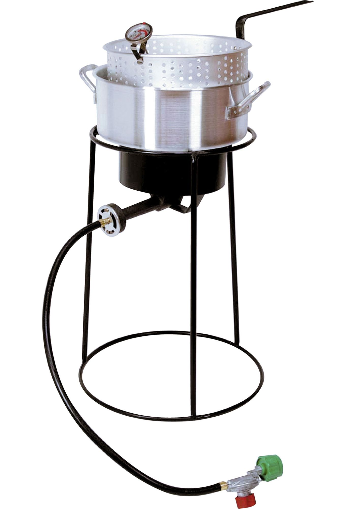 "King Kooker 20"" Fish Fryer Package with 10 Quart Aluminum Deep Fryer"