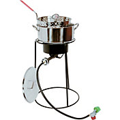 "King Kooker 20"" Fish Fryer Package with 10 Quart Stainless Steel Pot"
