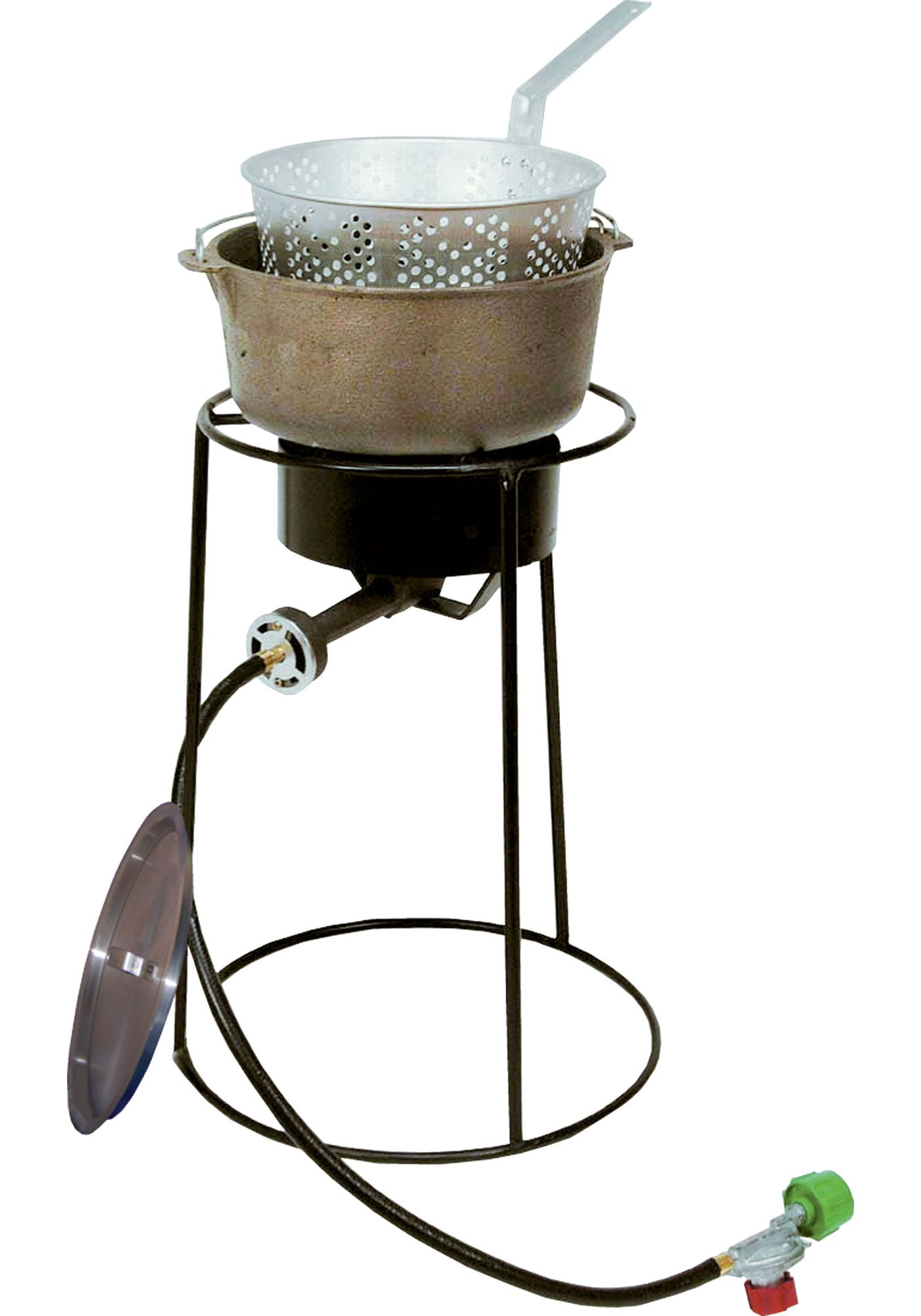 "King Kooker 20"" Fish Fryer Package with 6 Quart Cast Iron Pot"