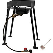 "King Kooker 25"" Rectangular Single Burner Camp Stove Package"