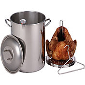 King Kooker 26 Quart Stainless Steel Turkey Pot Package