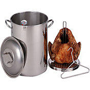 King Kooker 30 Quart Stainless Steel Turkey Pot Package