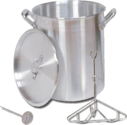 King Kooker 30 Quart Aluminum Turkey Pot Package