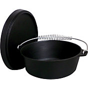 King Kooker 4 Quart Seasoned Cast Iron Dutch Oven