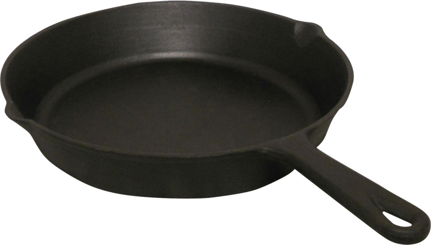 "King Kooker 8"" Seasoned Cast Iron Skillet"