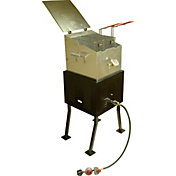 King Kooker V Bottom Deluxe Portable Outdoor Cooker Package