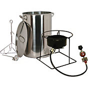 King Kooker 30 Quart Turkey Fryer Package with Stainless Steel Pot