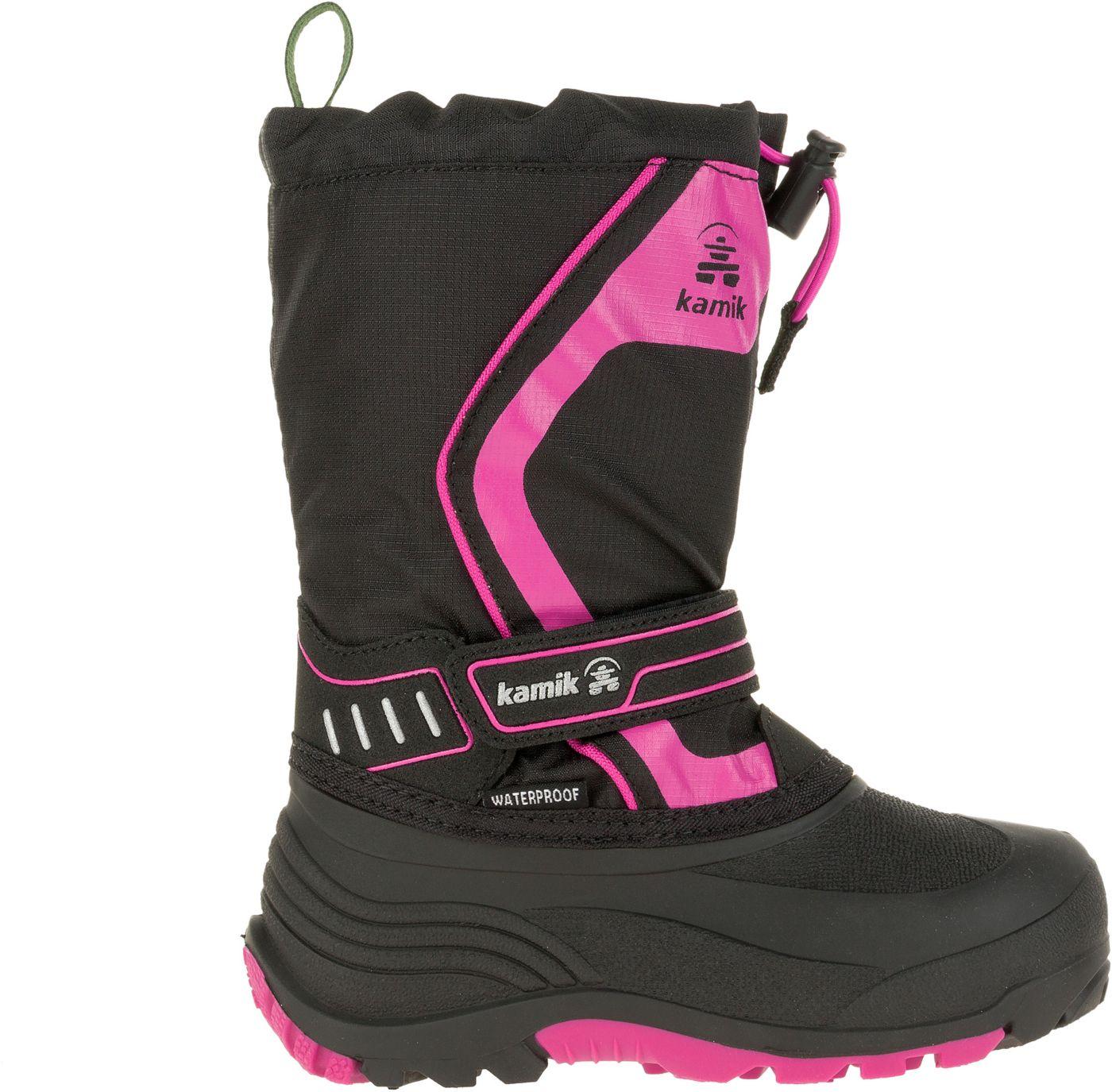 Kamik Kids' Snowcoast Insulated Waterproof Winter Boots