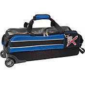 KR Strikeforce Royal Flush Slim 3-Ball Roller Bowling Bag