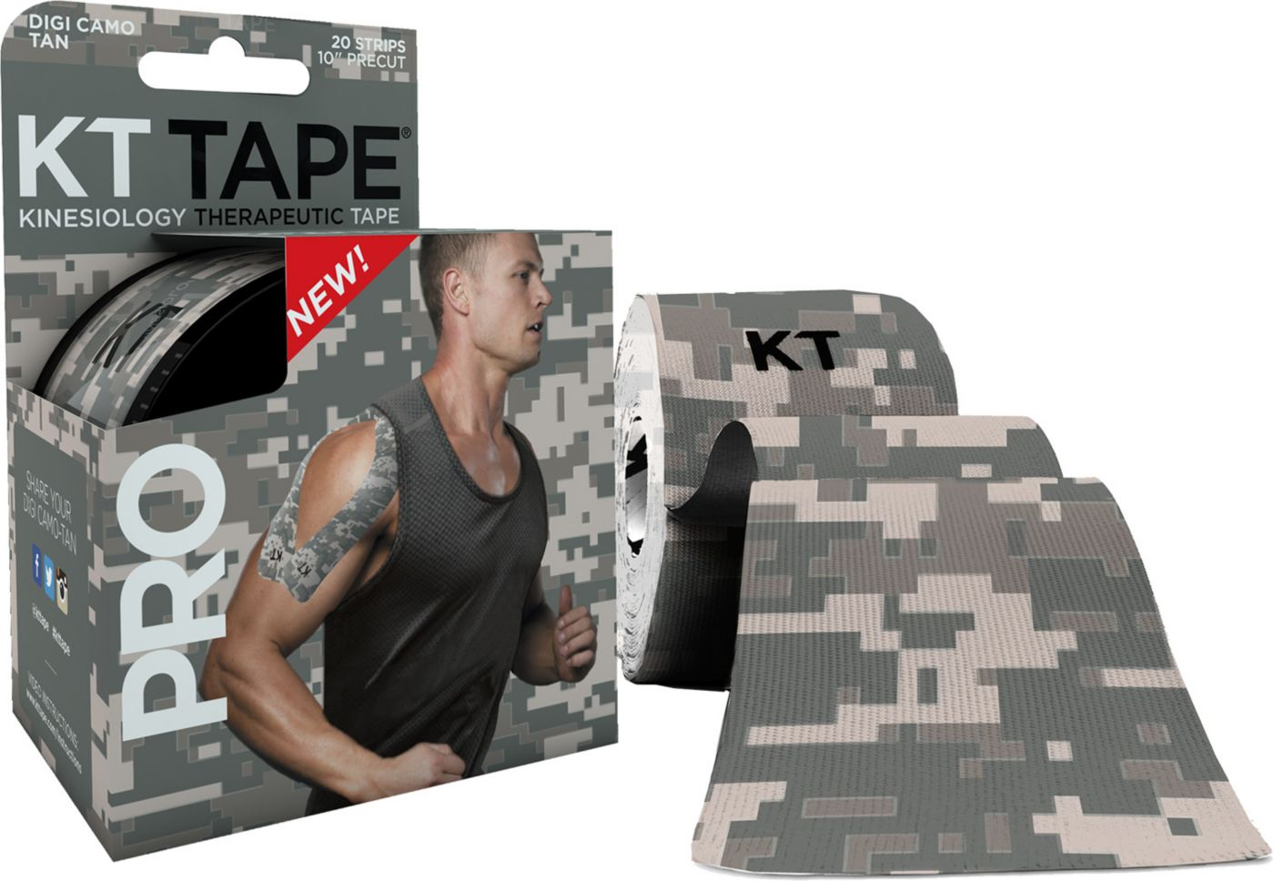 KT Tape PRO Digi Camo Kinesiology Tape - Limited Edition