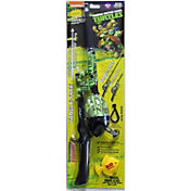 Lil' Anglers Ninja Turtles Youth No Tangle Telescopic Fishing Kit
