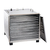 LEM 10-Tray Stainless Steel Dehydrator