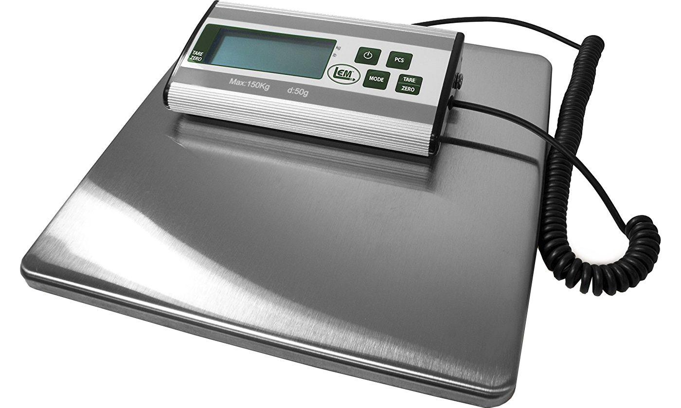 LEM 330lb. Stainless Steel Digital Scale