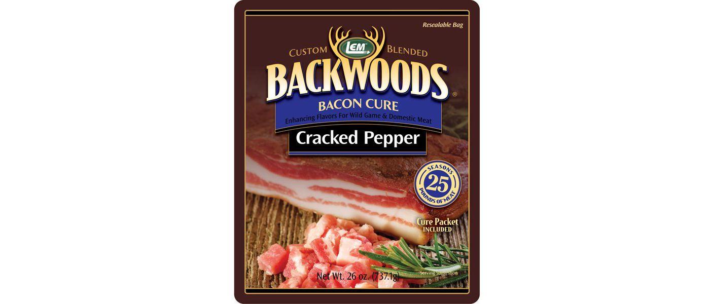 LEM Backwoods Cracked Pepper Bacon Cure