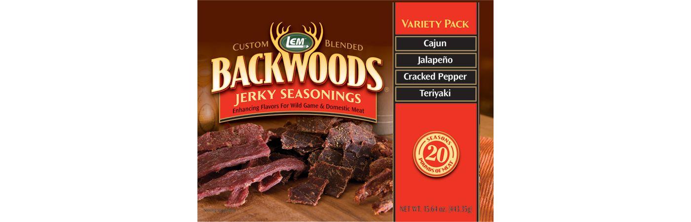 LEM Custom-Blended Backwoods Seasoning Variety Pack