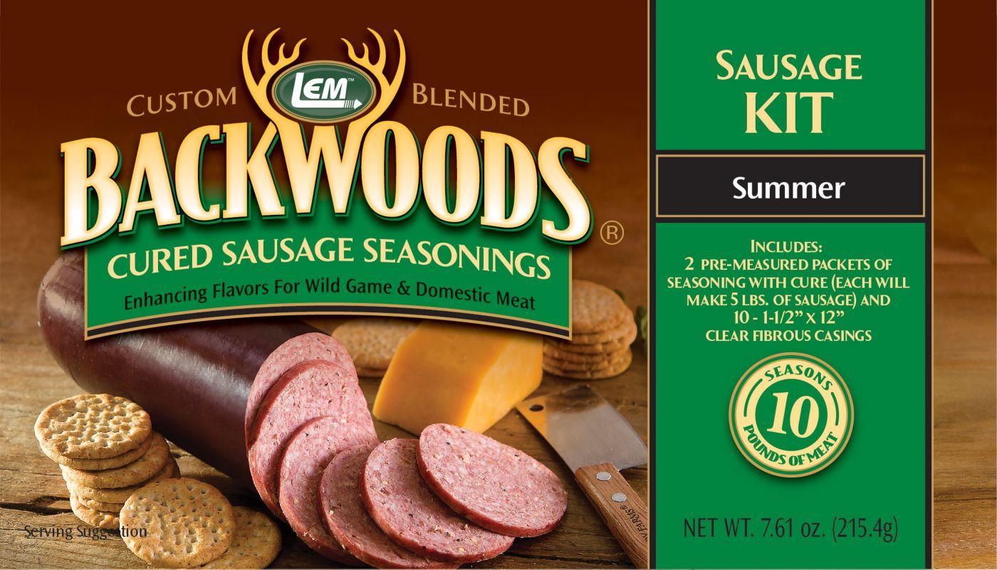LEM Custom-Blended Backwoods Cured Summer Sausage Kit