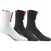 Louis Garneau Adult Conti Long Cycling Sock 3 Pack